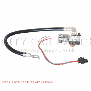 GENUINE BMW X1 E84 & 1 SERIES E81 NEGATIVE BATTERY LEAD IBS 12427618677 61127618677